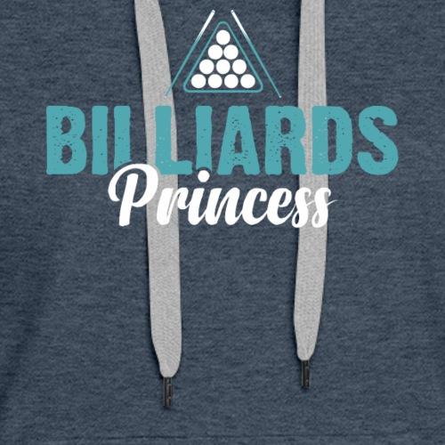 BILLIARDS PRINCESS - Women's Premium Hoodie