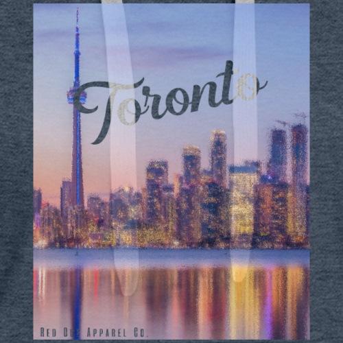 RED DOT APPAREL - Toronto Skyline - Women's Premium Hoodie