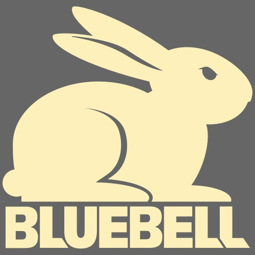 Bluebell, The Glowing Rabbit #2 - Women's Premium Hoodie