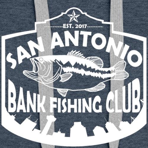 San Antonio Bank Fishing Club White Logo - Women's Premium Hoodie