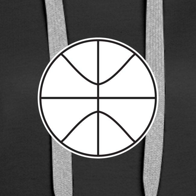 Basketball black and white
