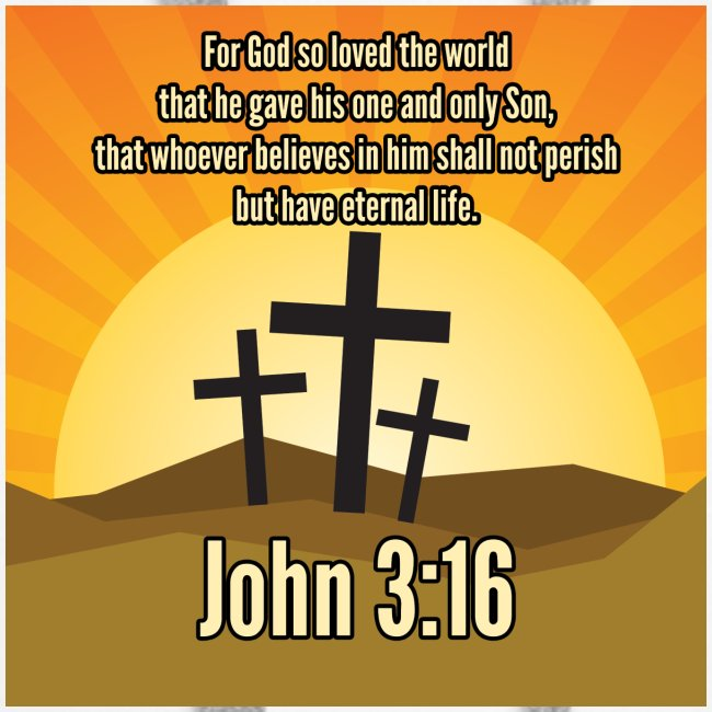 John 3:16 - the most widely quoted Bible verses?