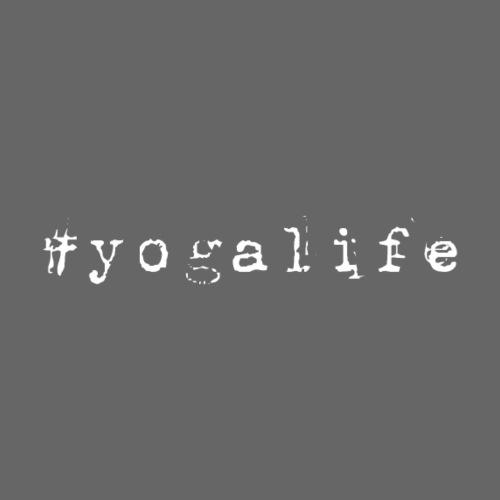 Yogalife Hastag Design - Women's Premium Hoodie
