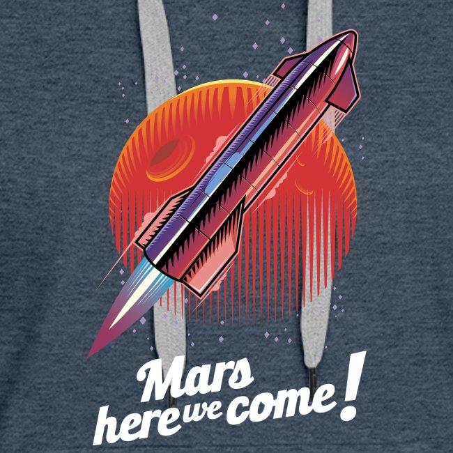 Mars Here We Come - Dark