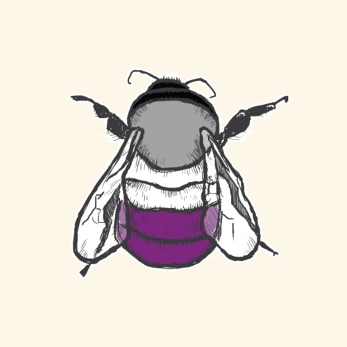 Asexual Bee - Women's Premium Hoodie
