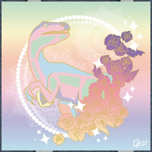 pastel raptor - Women's Premium Hoodie