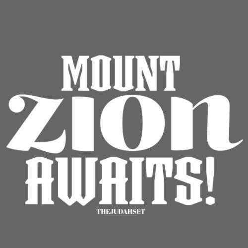 Mount ZION Awaits - Women's Premium Hoodie