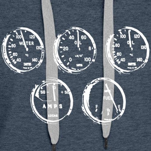 AC speedometer - Women's Premium Hoodie