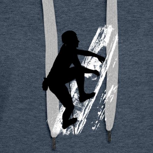 Female Climber - Women's Premium Hoodie