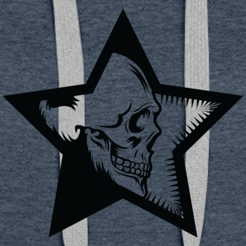 StarSkull FN Black - Women's Premium Hoodie
