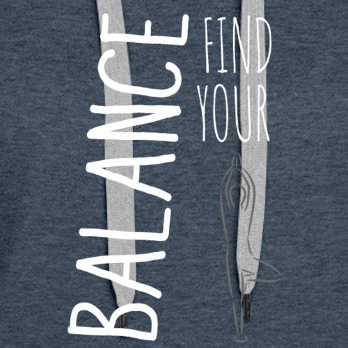 Find Your Balance - Women's Premium Hoodie