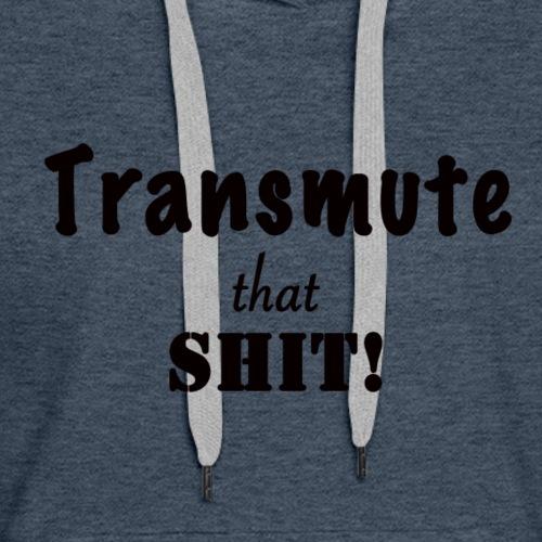 Transmute-Black - Women's Premium Hoodie