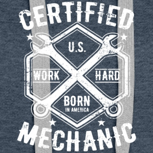 Certified Mechanic T Shirt 2 - Women's Premium Hoodie