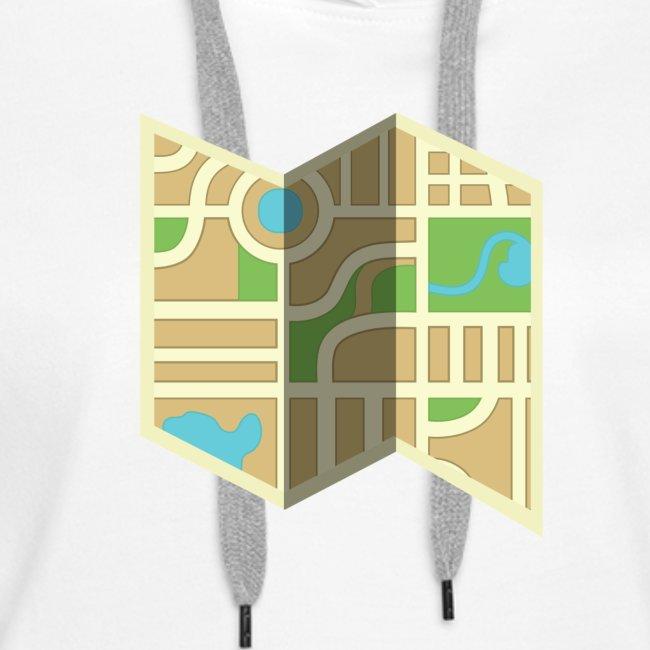 Awesome Folded Map