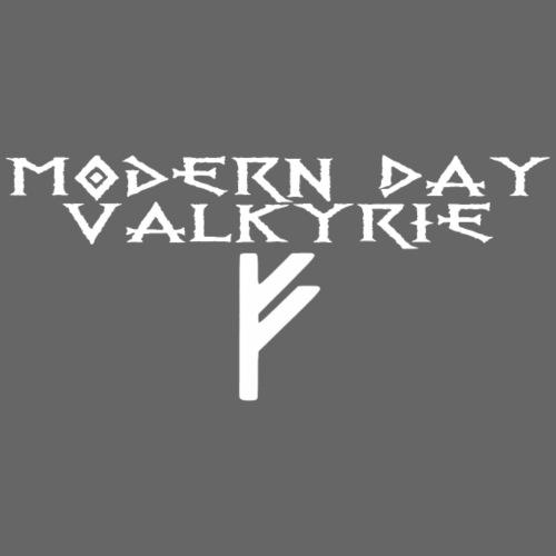 Modern Day Valkyrie Front - Women's Premium Hoodie