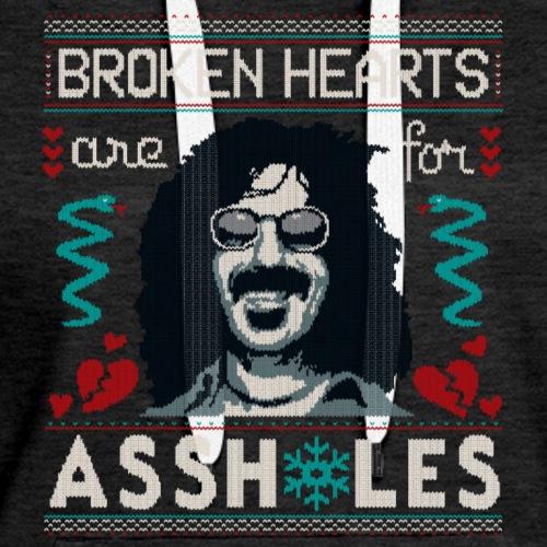 Broken Hearts Sweater - Women's Premium Hoodie