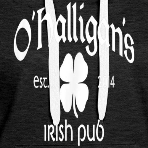O'Halligan's Irish Pub T-Shirt - Whiskey and Beer - Women's Premium Hoodie