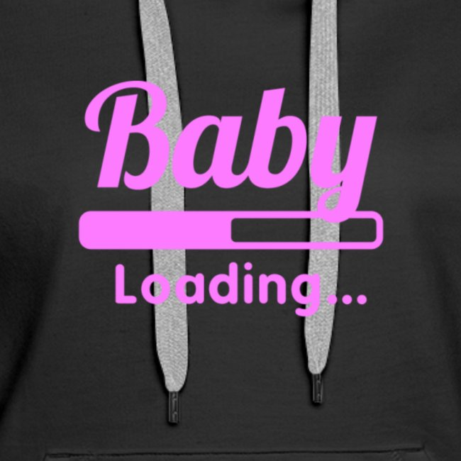 Pink Baby Loading