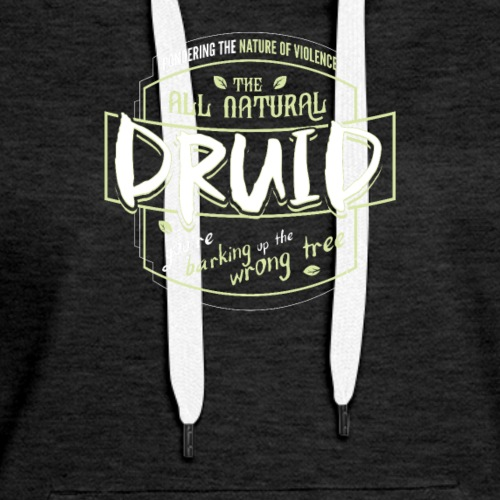Druid Class Fantasy RPG Gaming - Women's Premium Hoodie