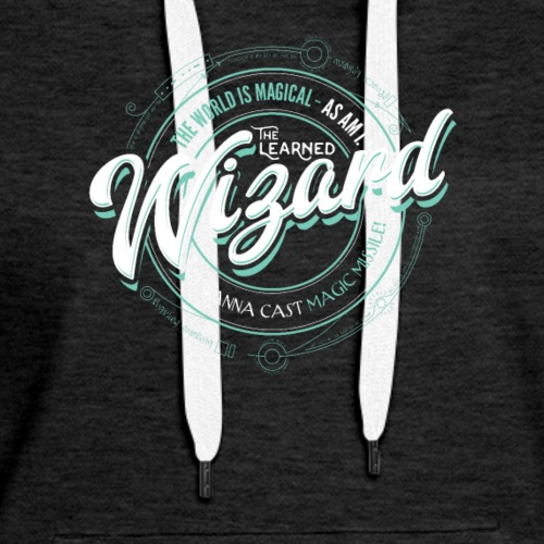 Wizard Class Fantasy RPG Gaming - Women's Premium Hoodie