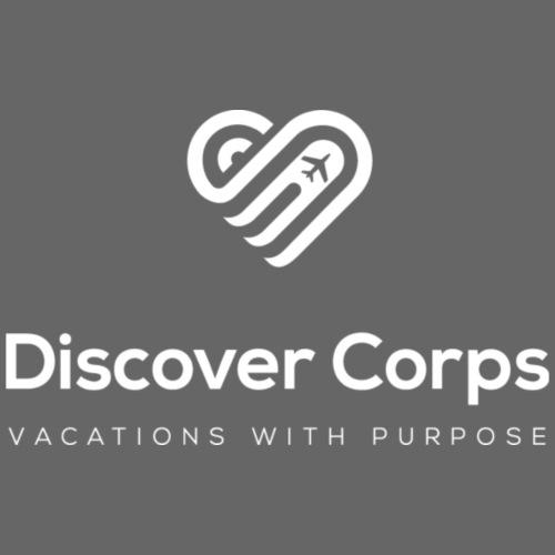 DiscoverCorp Logo Vertical Rev High - Women's Premium Hoodie