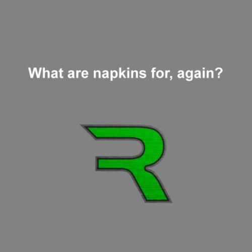 Saying - Napkins - Women's Premium Hoodie