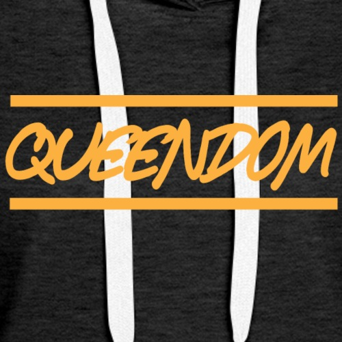 Queendom in Gold - Women's Premium Hoodie