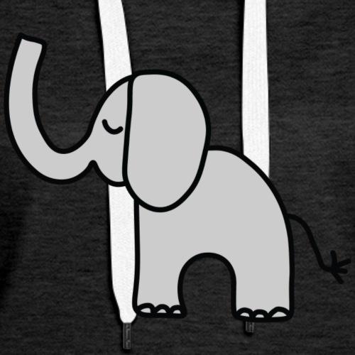 sweet elephant child baby - Women's Premium Hoodie