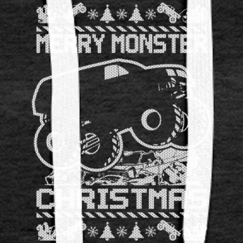 MONSTER CHRISTMAS TRUCK MASTER T Shirt - Women's Premium Hoodie
