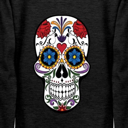 Floral Skull - Women's Premium Hoodie