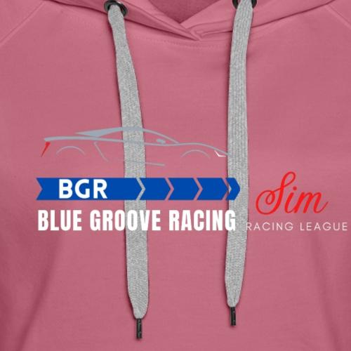 Blue Groove Racing SRL White - Women's Premium Hoodie