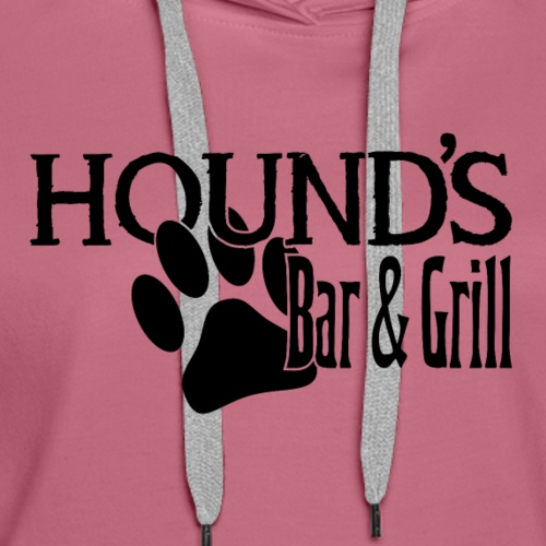 Hound's Bar and Grill - Women's Premium Hoodie