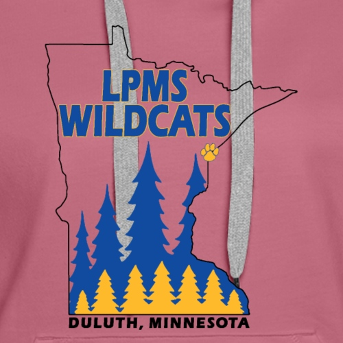 Minnesota Wildcats - Women's Premium Hoodie