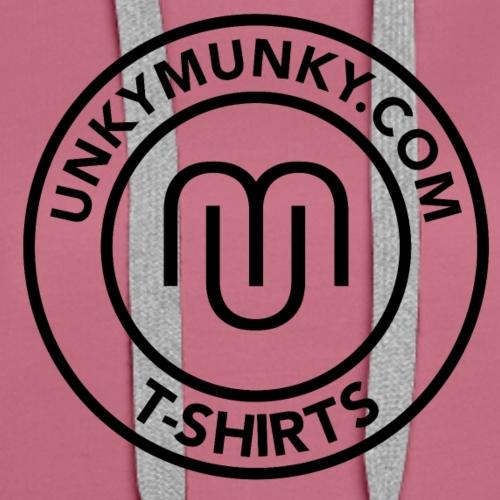 UNKYMUNKY BADGE - Women's Premium Hoodie