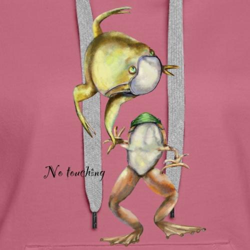 Two frogs - Women's Premium Hoodie