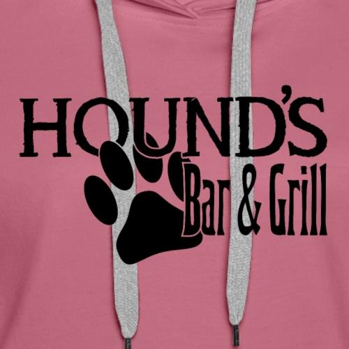 Hound's Bar and Grill - Women's Premium Hoodie