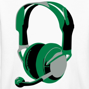 Gaming Headphones - Kids' Long Sleeve T-Shirt