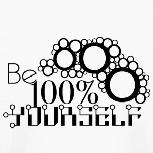 Be 100% Yourself - Kids' Long Sleeve T-Shirt