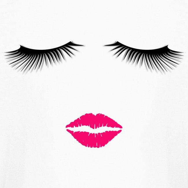 Lipstick and Eyelashes