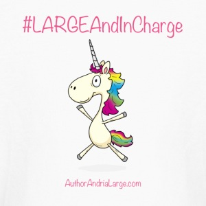 #LargeAndInCharge - Kids' Long Sleeve T-Shirt