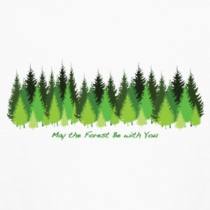May the Forest Be with You - Kids' Long Sleeve T-Shirt