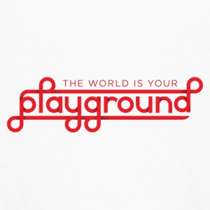 The World Is Your Playground - Kids' Long Sleeve T-Shirt