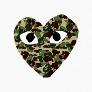WGD Camo Bape - Kids' Long Sleeve T-Shirt