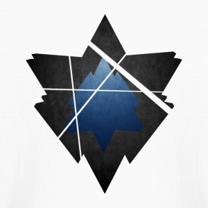 Simplistic Low Poly Symbol - Kids' Long Sleeve T-Shirt