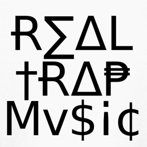 Real_Trap_Music - Kids' Long Sleeve T-Shirt