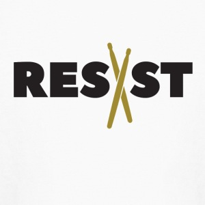 Resist Drums - Kids' Long Sleeve T-Shirt
