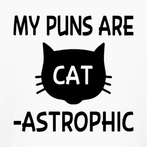 My Puns Are Catastrophic - Kids' Long Sleeve T-Shirt
