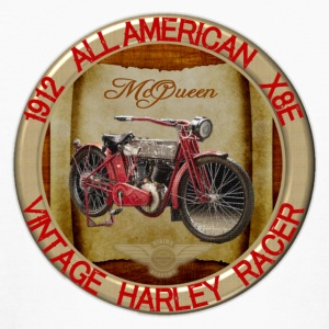 1912-X8E All American Vintage Motorcycle - Kids' Long Sleeve T-Shirt
