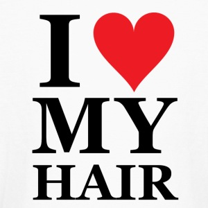 I Heart My Hair / I Love My Hair - Kids' Long Sleeve T-Shirt