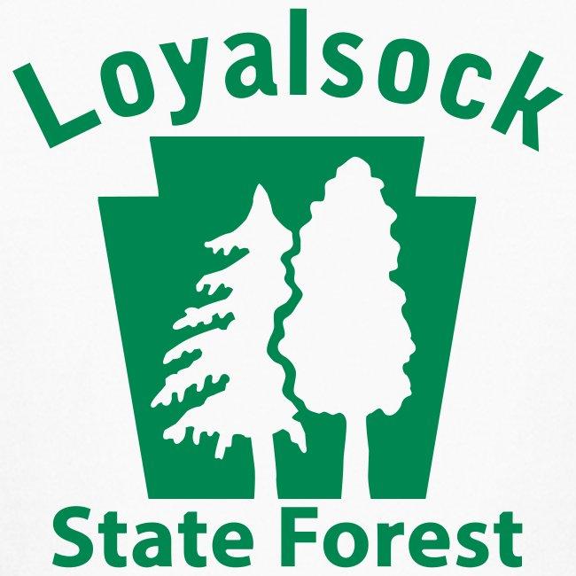 Loyalsock State Forest Keystone (w/trees)